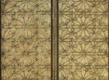 Moorish Metal Pattern. An ornate metal pattern in Moorish style stock photos