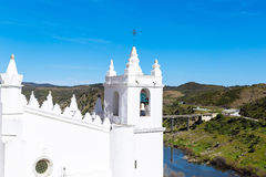 Moorish mosque. Mértola, Portugal Royalty Free Stock Photography