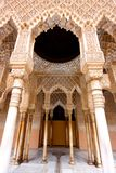 The Moorish Palace of Alhambra in Granada, Spain royalty free stock image