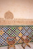 Moorish Palace, Alhambra, Spain. Moorish Palace interior, Alhambra, Spain, Europe Stock Photography