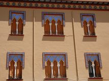 Moorish palace in Cordoba in Spain Royalty Free Stock Photos