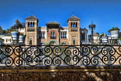 Moorish palace Stock Photography