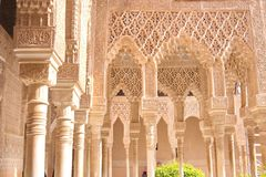 Moorish Palace, Granada, Spain, Europe Royalty Free Stock Photography