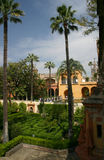 Moorish Palace in Seville, Royalty Free Stock Photos