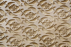 Moorish Patterned Wall Decoration Segovia Royalty Free Stock Image