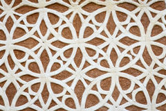 Moorish Patterned Wall Decoration Segovia Royalty Free Stock Photo