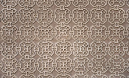 Moorish Patterned Wall Decoration Segovia Spain Royalty Free Stock Photos