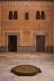 Moorish patterns of Alhambra royalty free stock photography