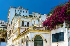 Moorish Revival architecture in Algiers, Algeria. Moorish Revival architecture in Algiers, the capital of Algeria stock images