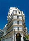 Moorish Revival architecture in Algiers, Algeria. Moorish Revival architecture in Algiers, the capital of Algeria stock photography