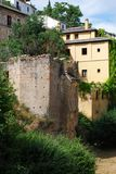 Moorish ruin, Granada. Stock Photos
