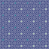 Moorish Star Seamless Pattern Background Royalty Free Stock Image