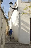 Moorish street in Granada Royalty Free Stock Photo