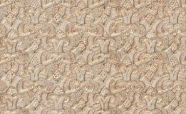 Moorish Stucco. A closeup of ornate moorish stucco from Marrakesh Royalty Free Stock Image