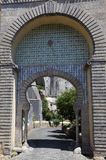 Moorish style gate in Sintra Stock Image