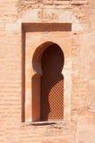 Moorish-style window Stock Images