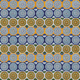 Moorish tile background Royalty Free Stock Photos