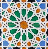 Moorish tiles Stock Photography