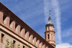 Moorish tower, Calatayud, Zaragoza province,. Moorish tower  Calatayud  Zaragoza province,  Aragon, Spain Stock Image