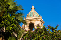 Moorish Tower. A Moorish style cupola and tower situated in Balboa Park, San Diego, California Stock Images