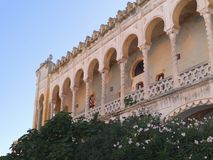 The Moorish villa Sticchi in Salento Stock Photography