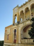 The Moorish villa Sticchi in Salento Stock Photo
