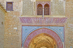 Moorish walls Royalty Free Stock Images