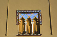 Moorish window in Cordoba, Spain Royalty Free Stock Photo