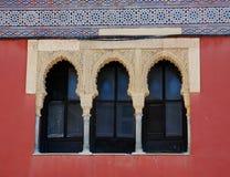 Moorish windows stock photos