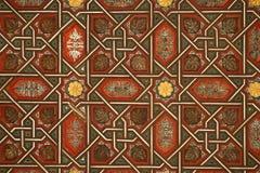 Moorish wooden decoration Stock Photo