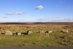 Moorland landscape Royalty Free Stock Photos