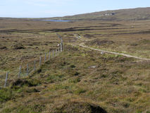 Moorland, North Uist Royalty Free Stock Images