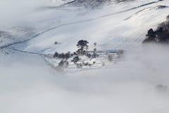 moorland zima Obrazy Royalty Free