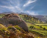 moorlandlandskap Royaltyfria Foton