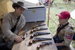 Moorpark Civil War Reenactment Stock Photos