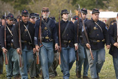 Moorpark Civil War Reenactment Stock Image