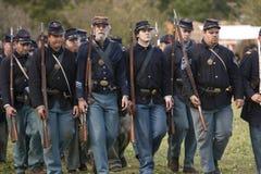 Moorpark Civil War Reenactment Stock Image