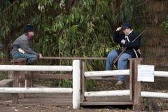 Moorpark Civil War Reenactment Royalty Free Stock Image