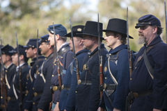 Moorpark Civil War Reenactment Royalty Free Stock Image