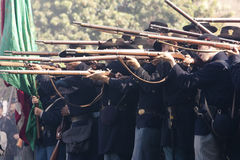 Moorpark Civil War Reenactment 47 Stock Image