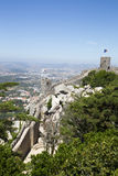 Moors Castle in Sintra, Portugal Royalty Free Stock Photo