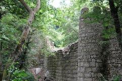 Moors kasteel in Sintra Stock Fotografie