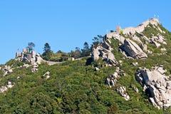 Moors kasteel van Sintra Stock Afbeelding