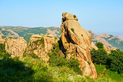 The moorstone rock on the mountain Royalty Free Stock Images