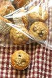 Moosbeere-Hafermehl-Muffins Lizenzfreies Stockfoto