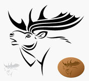 Moose stock illustration