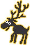 Moose Cartoon Design Illustration Stock Photos