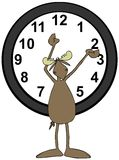 Moose daylight savings Royalty Free Stock Photography