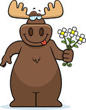 Moose Flowers Stock Photo