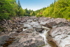 Moose Horn Trail Broad River Royalty Free Stock Photography